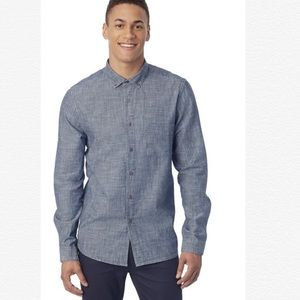 Alternative Apparel Men's Industry Chambray Shirt